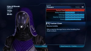mass effect 3 multiplayer quarian infiltrator build